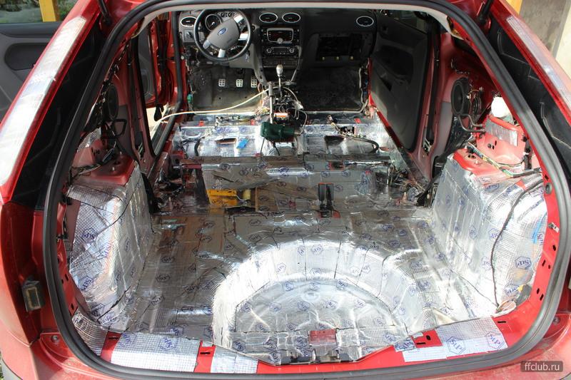 Как сделать шумоизоляцию на Форд Фокус Интересный сайт, полезные советы