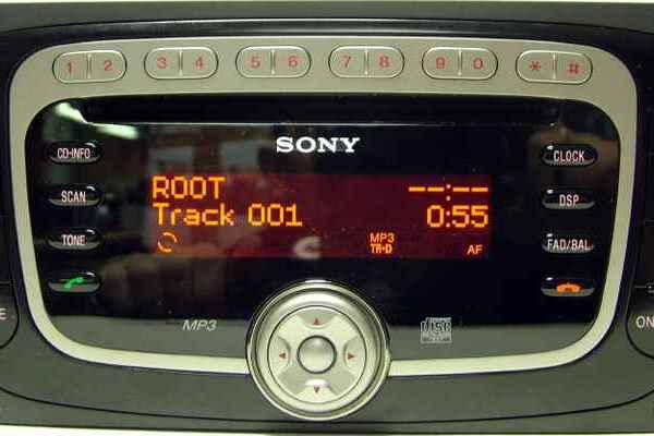 Ford, V серийный номер в коде Радио, Форд visteo