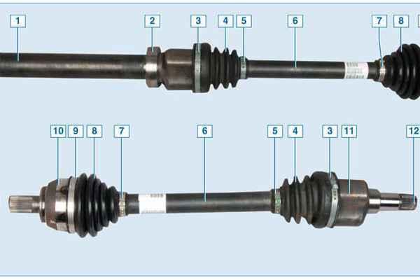 Сепаратор шруса внутреннего правый форд фокус 2