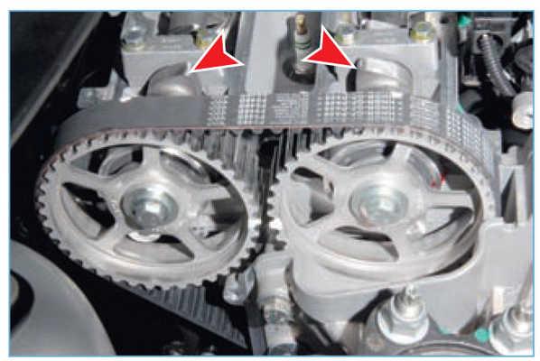 Как выставить метки грм форд фокус 2