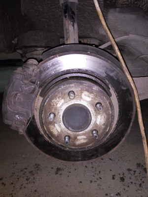 ford fusion заблокированы задние тормоза горит abs