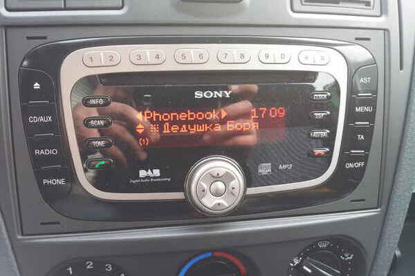 sony с mp-3 для ford s-max