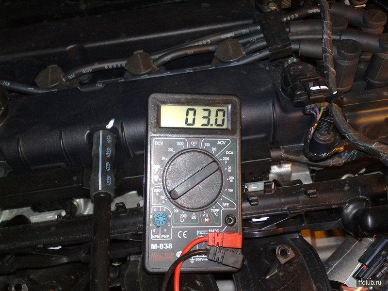 код ошибки p010f ford mondeo 2.0 tdci