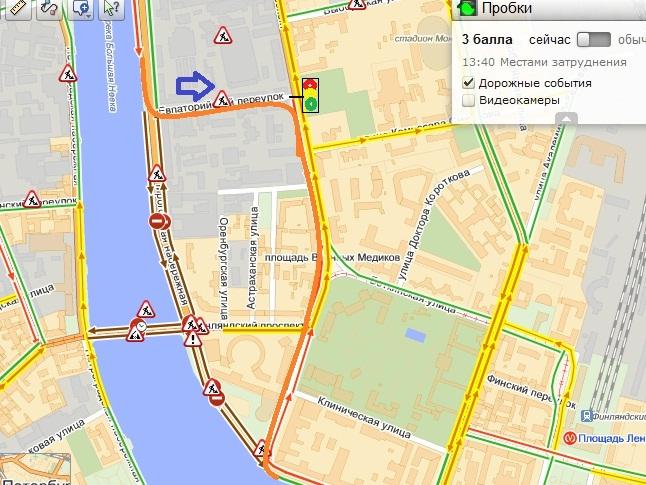 Изменилась схема движения объезда ремонта Пироговской! нарисовал корявенько, но думаю понятно.  Санкт-Петербург.