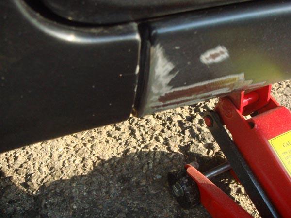 Как убрать ржавчину с пороги автомобиля своими руками