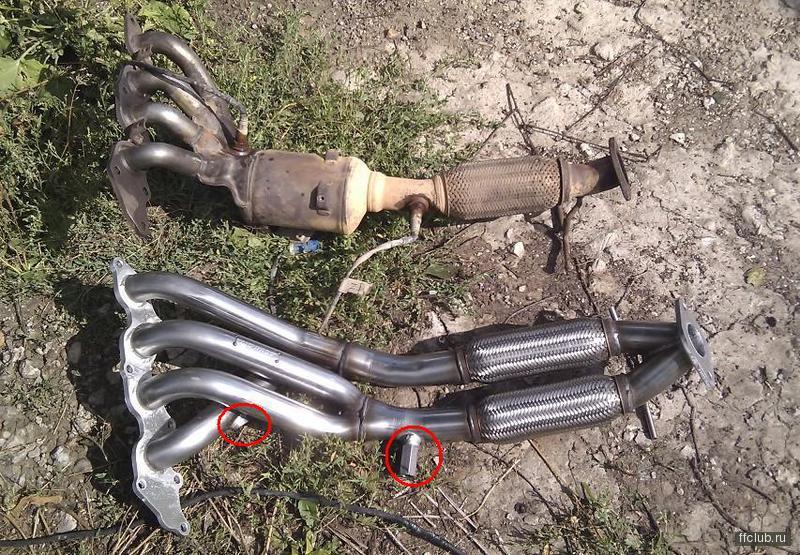 Ремонт катализатора своими руками на форд фокус7