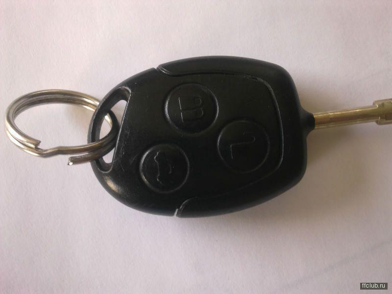 ford s-max не работает цз ключ