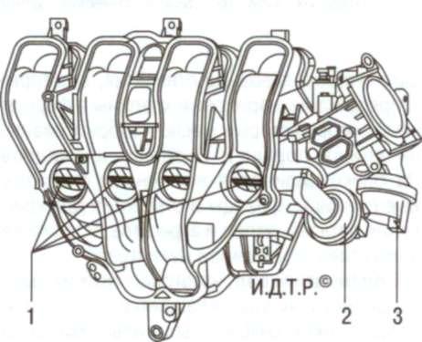 Впускной коллектор двигателей