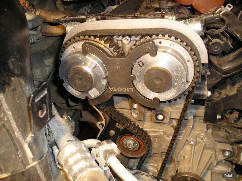Форд фокус 2006 замена ремня грм