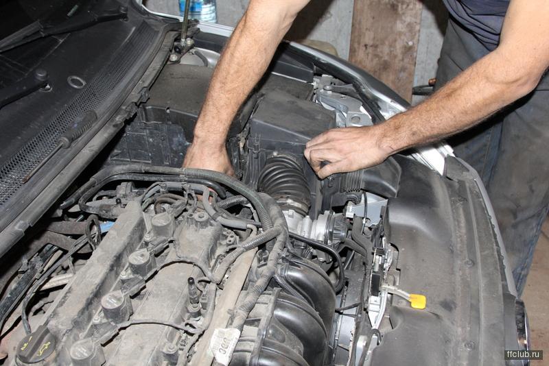 уходит жидкость сцепления ford c-max