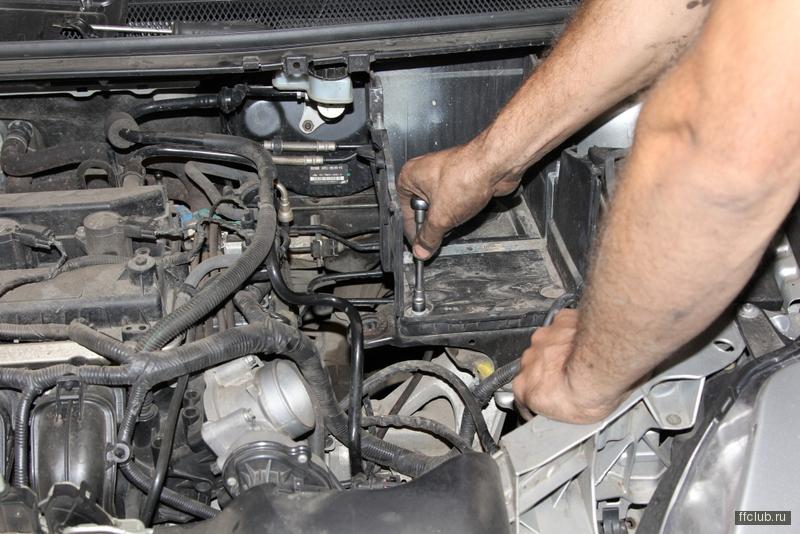 снятие коробки передач ford s-max