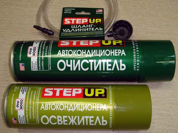Пенный Очиститель Автокондиционера Step-up Инструкция - фото 2