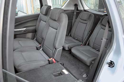 третий ряд сидений ford s-max