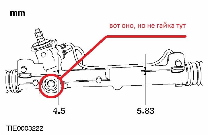 Форд фокус 2 рулевая рейка схема