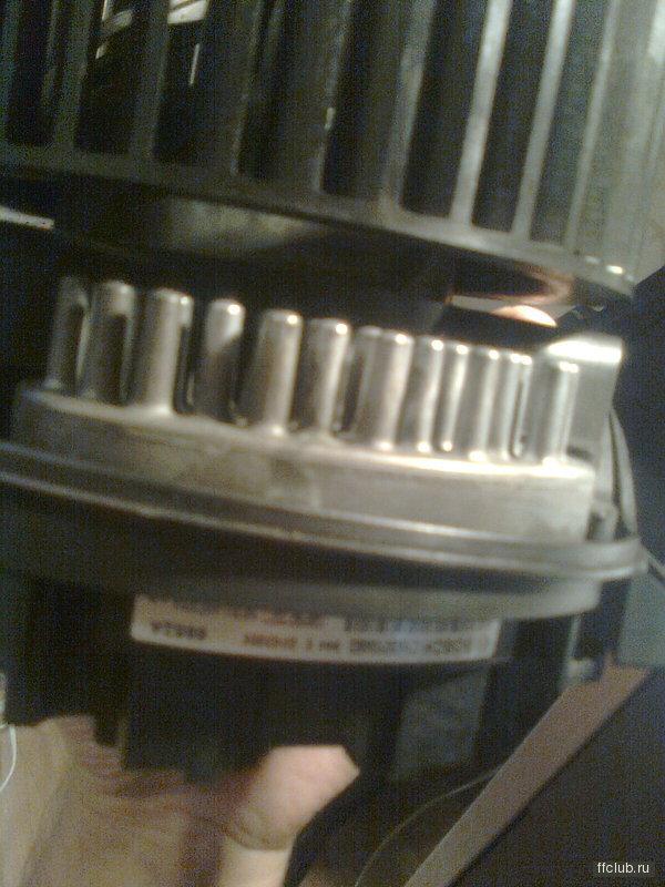 Pron Вчера схемы смотрел, у тебя накернулся резистор вентилятора.  Это тот Б У который у тебя на картинке был.