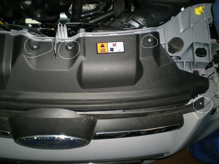 замена птф на ford s-max