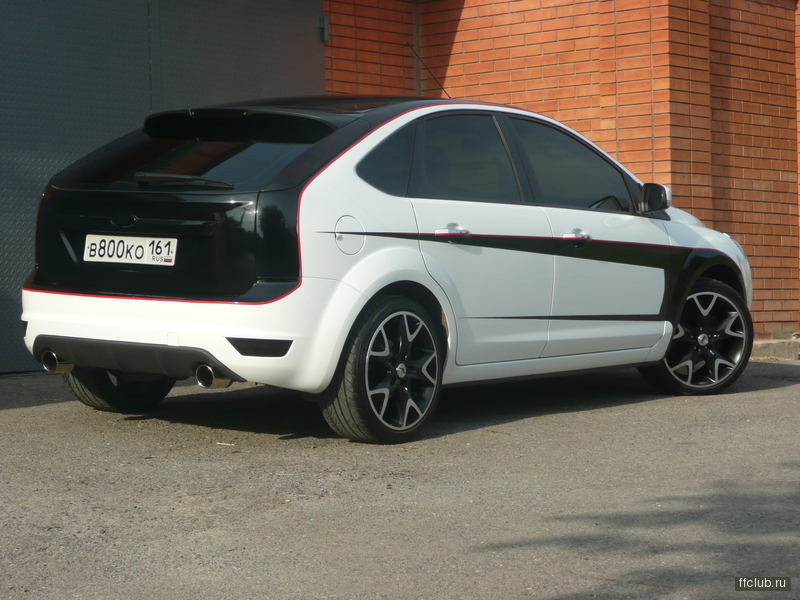 Ford focus ii hatch tuning.