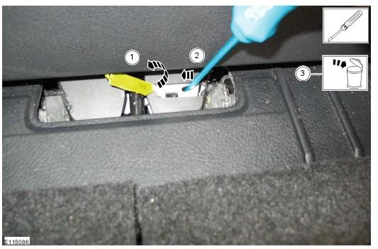ford mondeo 2003 как открыть багажник