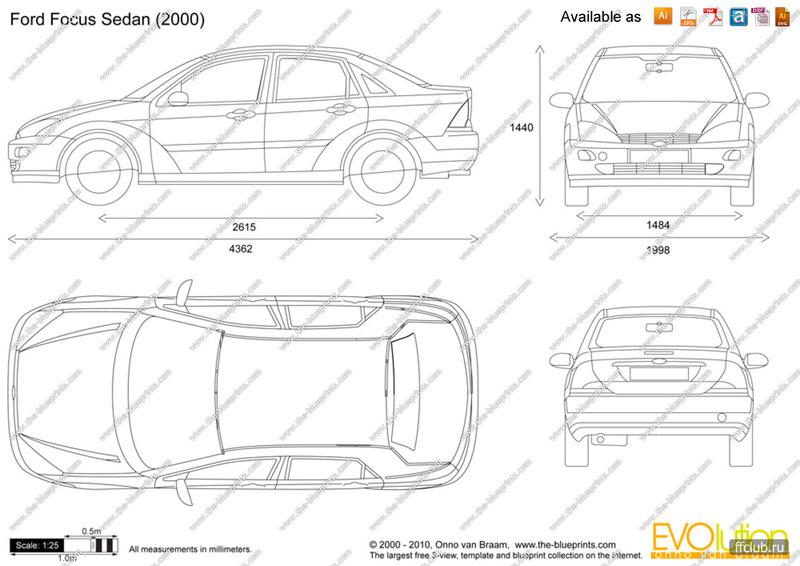 конструкция элементов кузова форд фокус2