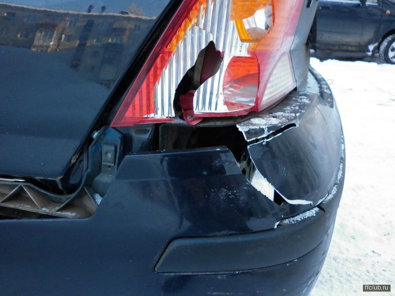 Кронштейн заднего бампера форд фокус 2 седан