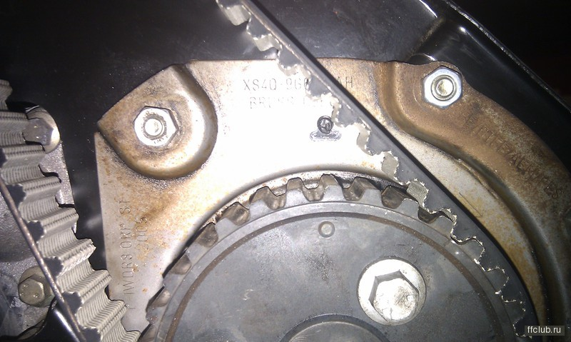 проверка меток грм ford tourneo 1.8