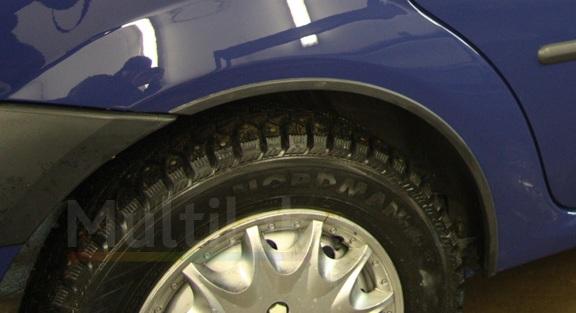 ford fusion накладки на арки колес