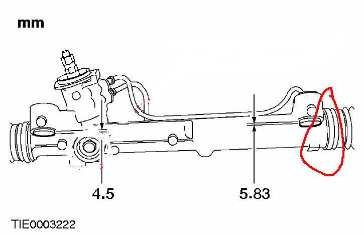 Замена рулевой рейки на форд фокус 1 своими руками