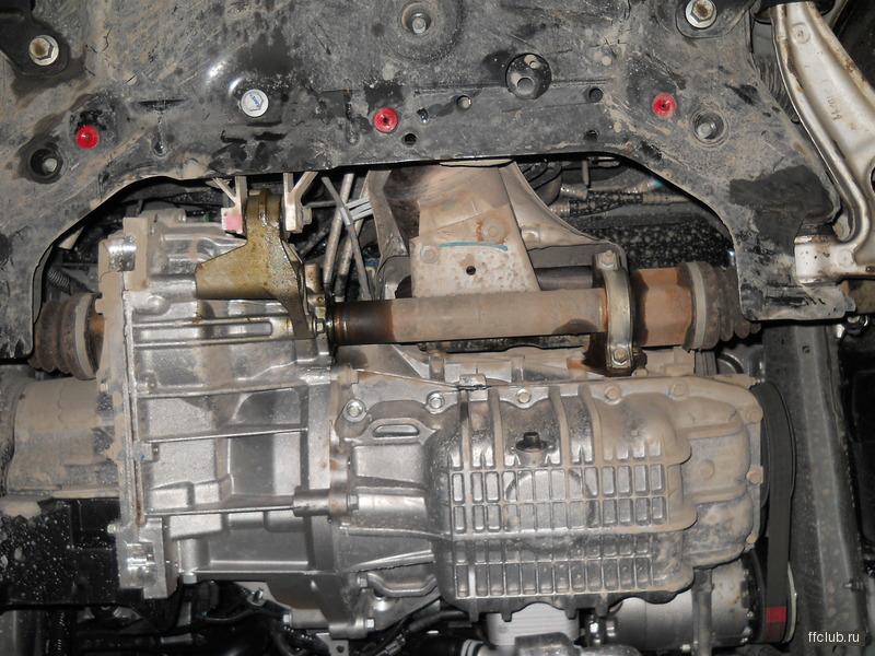 сальник правого привода на ford focus 1