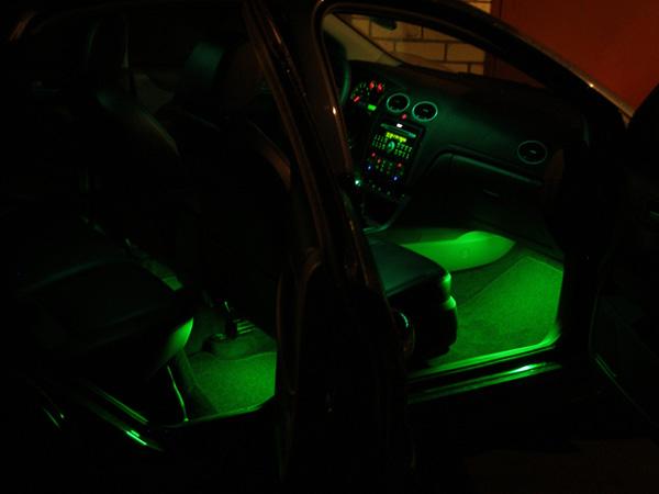 Как сделать подсветку на машинку