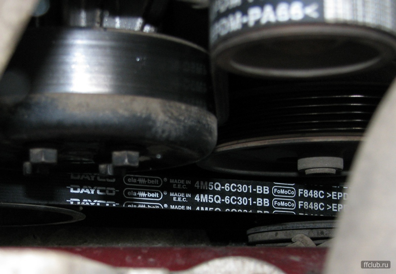 Замена ремней на форд фокус 2 1.8 видео