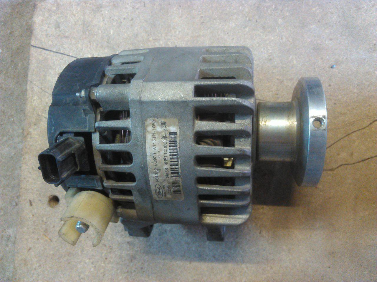 Форд фокус 2 генератор замена щеток 12 фотография
