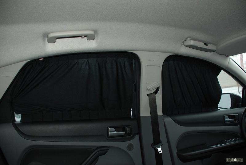 Каркасные шторки для авто своими руками