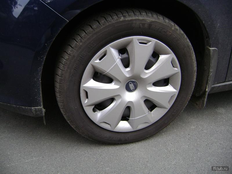 как закрепить колпаки ford focus