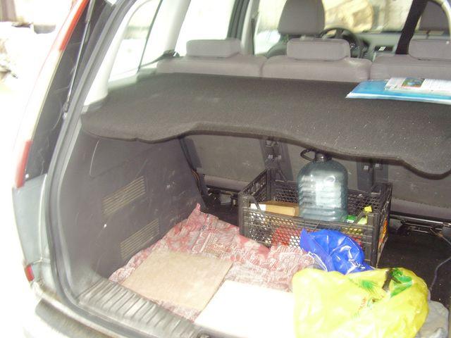 полочка багажника ford c max