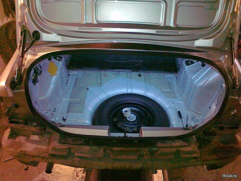 снять заглушки в бампере форд фокус 1