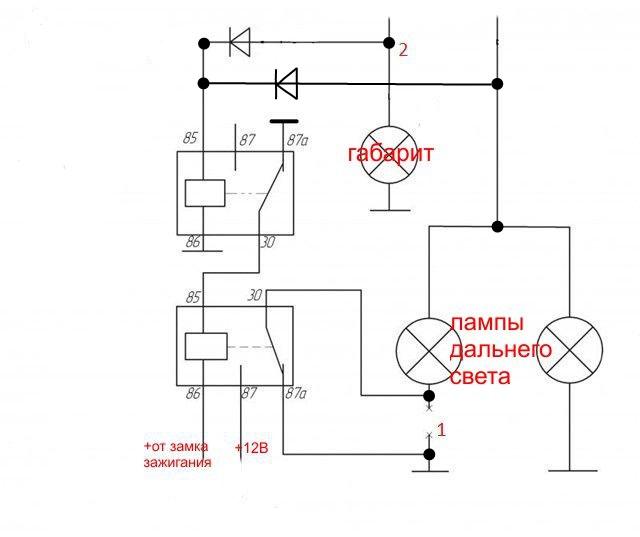16 сен 2012 реле включения дневных ходовых огней gline ar простая схема коммутатора на электромагнитном релеby канал...