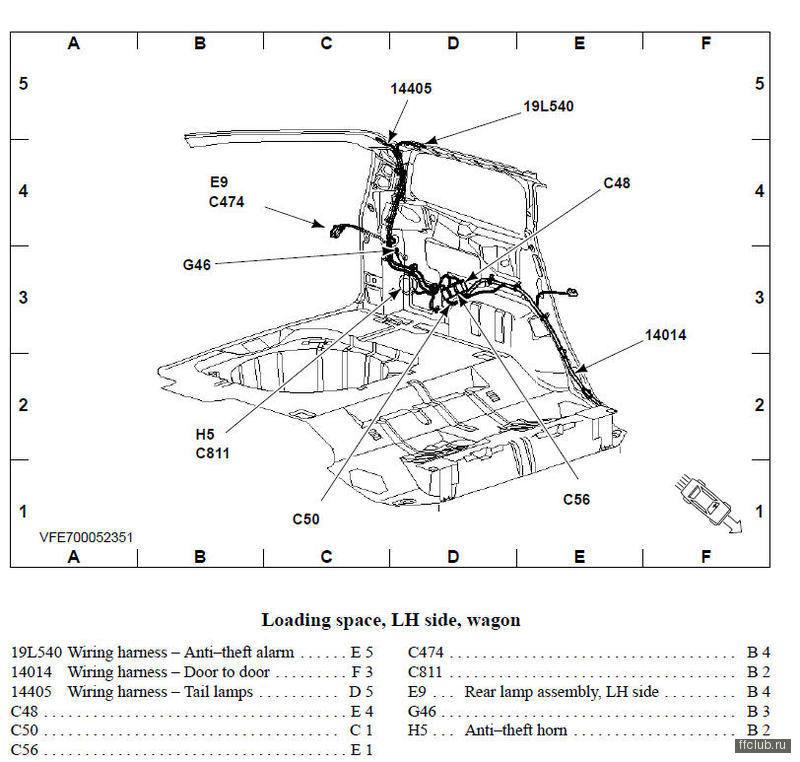 SEEMAN 09 Декабря 2012.  14405 это жгут а сам разъем С48.  13258971. 1. Проблемы с замком багажника.  FF2 Эксплуатация.