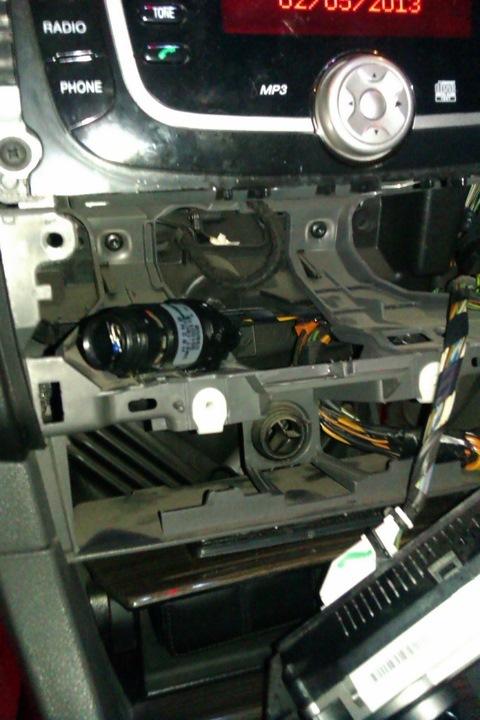 ford focus 2 замена вентилятора климат контроля