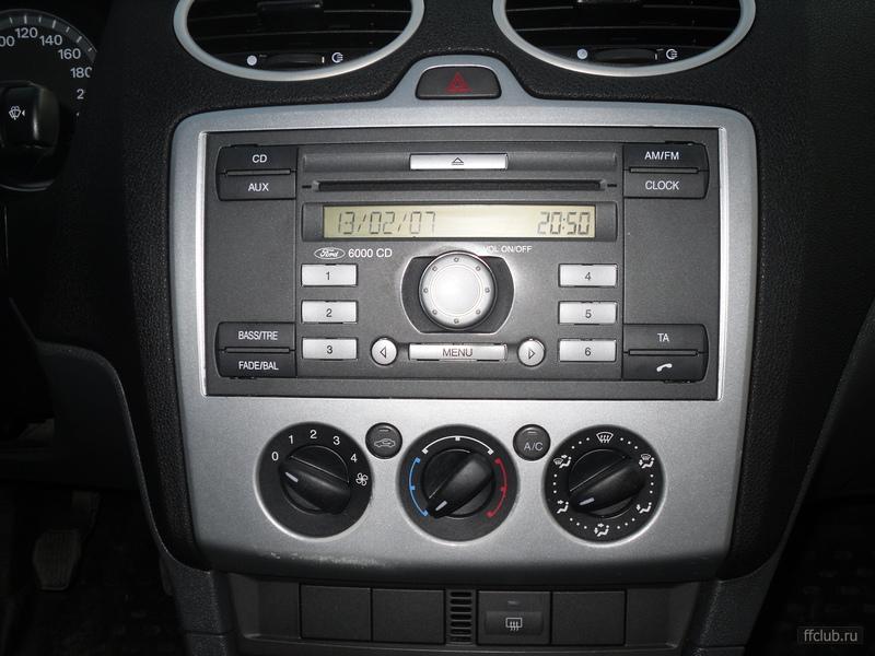 Инструкцию аудиосистема форд фокус 2