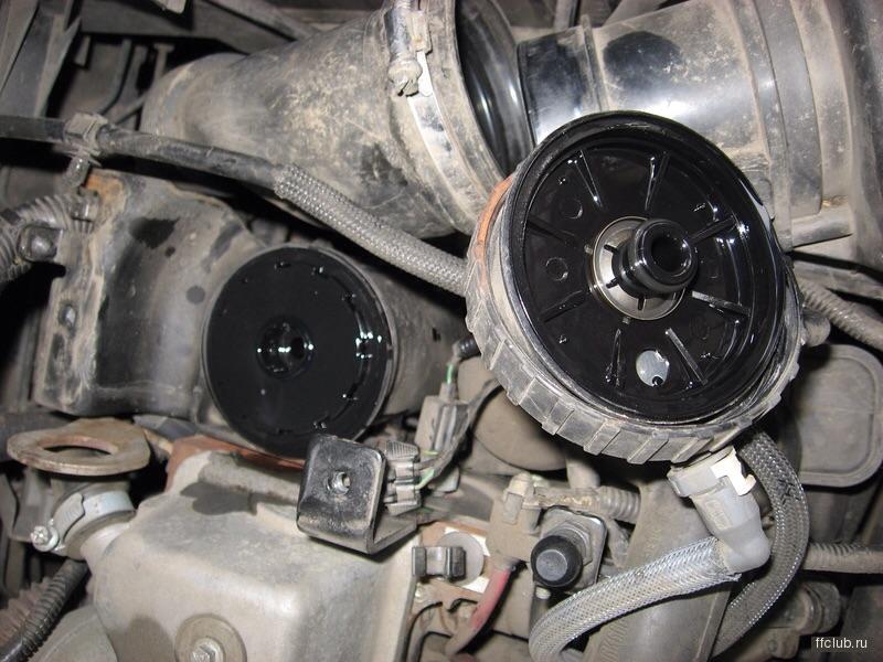 ford s-max в фильтре металлическая стружка