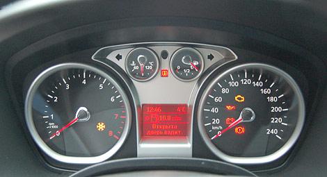 приборная панель на ford focus ii