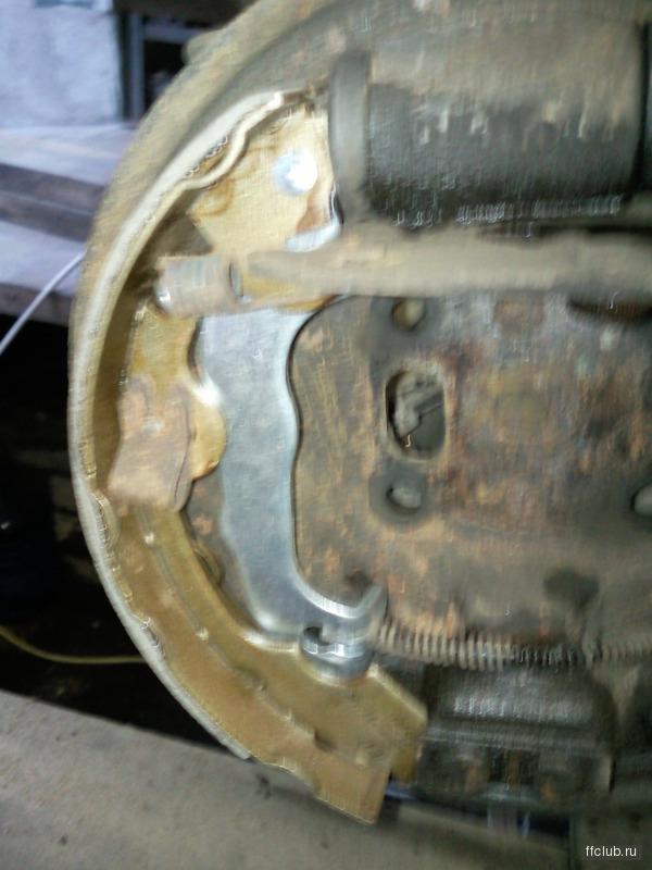 Замена тормозных колодок форд фокус 2 задних 22
