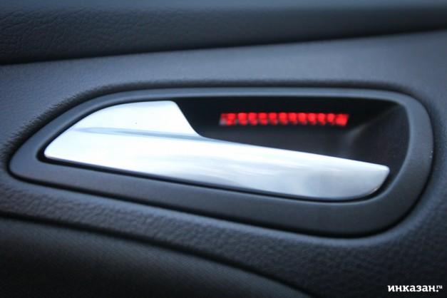 Как сделать подсветку ног форд фокусе