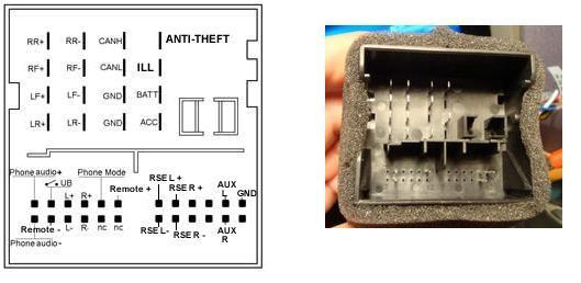 Схема подключения магнитолы 6000сд 4