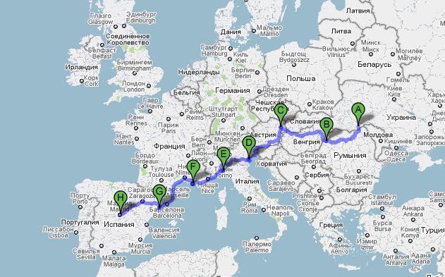 сколько км с белоруссии в австрию комфорт даже лютую