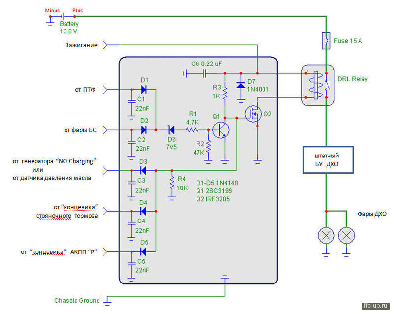 Контроллер для дхо своими руками схема