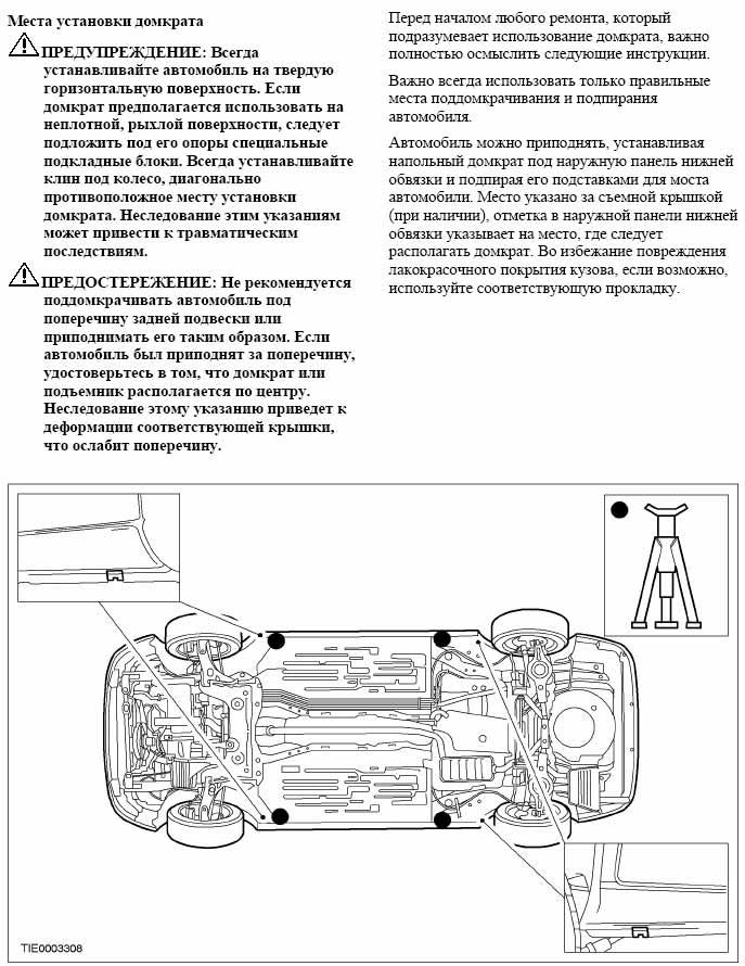 Руководство для станций технического обслуживания ford transit