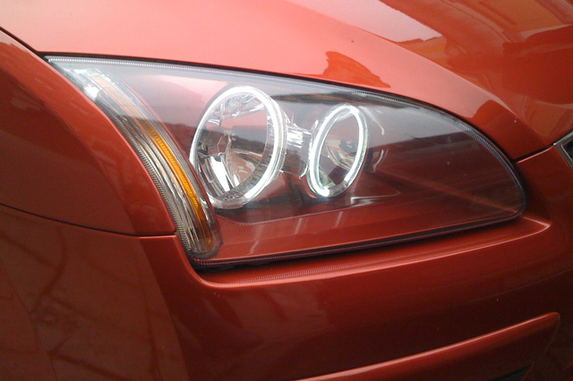 Форд фокус 2 ангельские глазки