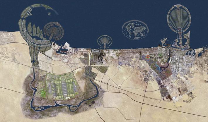 В. Строительство Бурдж Дубай