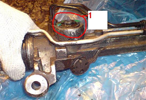 перебрали рулевую ford, а стук остался